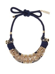 Max Mara Naiadi Necklace Blue Multi