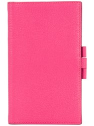 Hermes Vintage Notebook Cover Pink And Purple