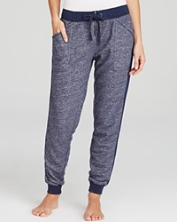 Pj Salvage French Terry Lounge Pants Navy