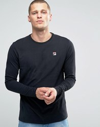 Fila Vintage Long Sleeve T Shirt Black
