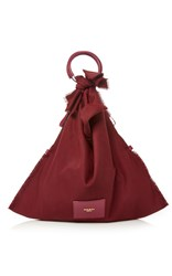 Paule Ka Wool Tote Bag Red