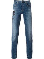 Iceberg Five Pocket Jeans Blue