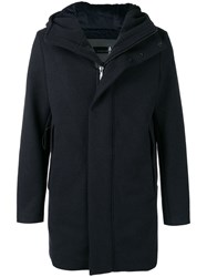 Rrd Hooded Coat Blue