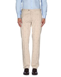 Roda Trousers Casual Trousers Men Beige