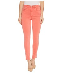 Joe's Jeans Charlie Ankle In Poppy Poppy Women's Red
