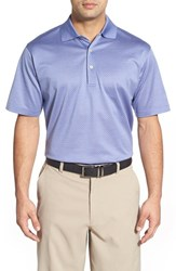 Men's Peter Millar 'Flameno' Jacquard Egyptian Cotton Lisle Polo Elephant