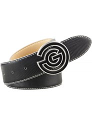 Galvin Green Wesley Leather Belt Black