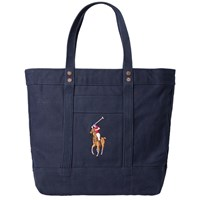 Polo Ralph Lauren Embroidered Tote Bag Blue