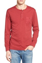 Lucky Brand Surfside Henley Red