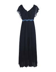 Pennyblack Long Dresses Dark Blue