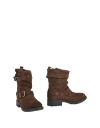 Pepe Jeans Ankle Boots Dark Brown