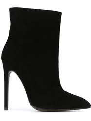 Gianni Renzi High Stiletto Heel Boots Black