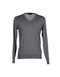 Hamaki Ho Knitwear Jumpers Men Grey