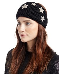 Jennifer Behr Galaxy Star Alpaca Kerchief Black