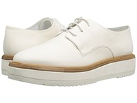 Vince Tanner White Leather Women's Shoes