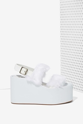 Nasty Gal Jeffrey Campbell Carnie Leather Sandal