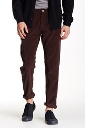 14Th And Union Straight Leg Corduroy Pant Brown