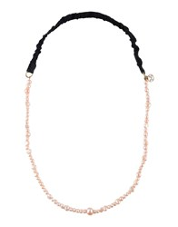 Maison Michel Necklaces Light Pink