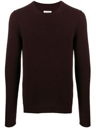 Zadig And Voltaire Crew Neck Cashmere Sweater Red