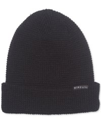 Rip Curl Men's Crafted Beanie Black