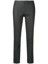 Kiltie Fitted Trousers Grey