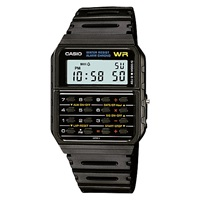 Casio Ca 53W 1Er Unisex Calculator Resin Strap Watch Black