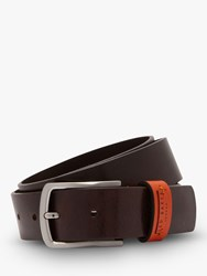 Ted Baker Parmar Leather Belt Brown