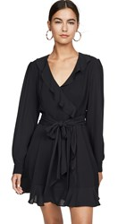 Parker Cadance Combo Dress Black