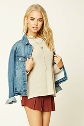 Forever 21 Contemporary Crew Neck Sweater