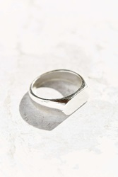 Urban Outfitters Dylan Id Ring Silver