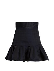 Ellery Kyoto Memory Twill Mini Skirt Black
