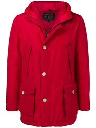 Woolrich Storm Parka Red