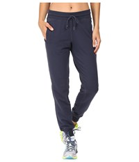 New Balance Classic Tailored Sweatpants Navy Women's Casual Pants