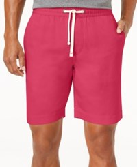 Tommy Hilfiger Men's Cecil Drawstring Shorts Azalea