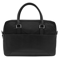 Reiss Robin Contrast Briefcase Black
