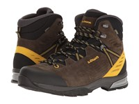 Lowa Arco Gtx Mid Olive Mustard Men's Shoes Brown