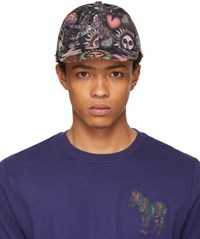 Paul Smith Ssense Exclusive Multicolor 1974 Baseball Cap