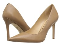 Sam Edelman Hazel Golden Caramel Dress Calf Leather Women's Shoes Brown