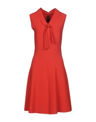 Marc Cain Short Dresses Red