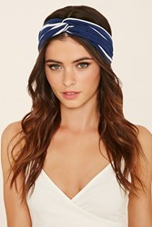 Forever 21 Striped Knit Headwrap