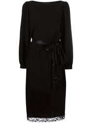 Marc Jacobs Boat Neck Shift Dress Black