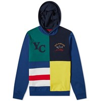 Paul And Shark Harlequin Popover Hoody Blue