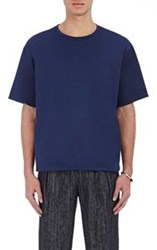 Tomorrowland Double Layer T Shirt Blue