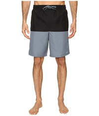 Nike Core Split 9 Volley Shorts Black Men's Swimwear