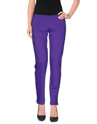Fisico Cristina Ferrari Trousers Casual Trousers Women Mauve