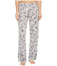 Pj Salvage Vintage Floral Lounge Pants Silver Women's Casual Pants