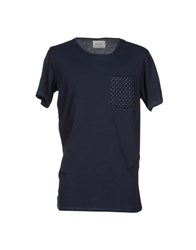 Prim I Am Topwear T Shirts Men Dark Blue