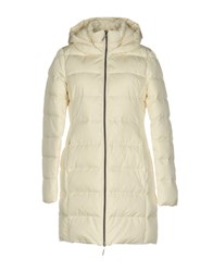 Jan Mayen Down Jackets Ivory
