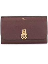 Mulberry Amberley Long Wallet Red