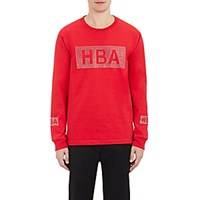 Hood By Air Men's Crystal Logo Jersey T Shirt Red